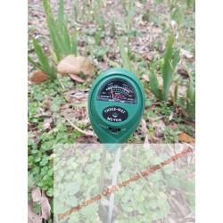 pH-метър за почва 3 в 1